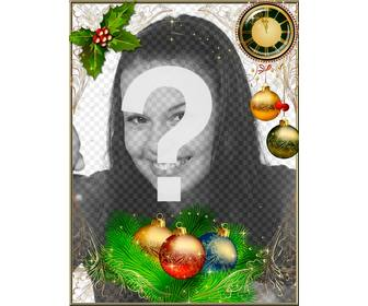 frame to decorate ur photos christmas and new year