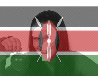 filter of kenya flag to put on ur profile picture