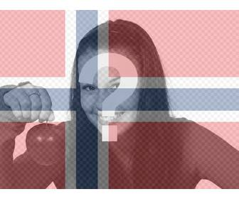 filter of norway flag for ur pictures for free