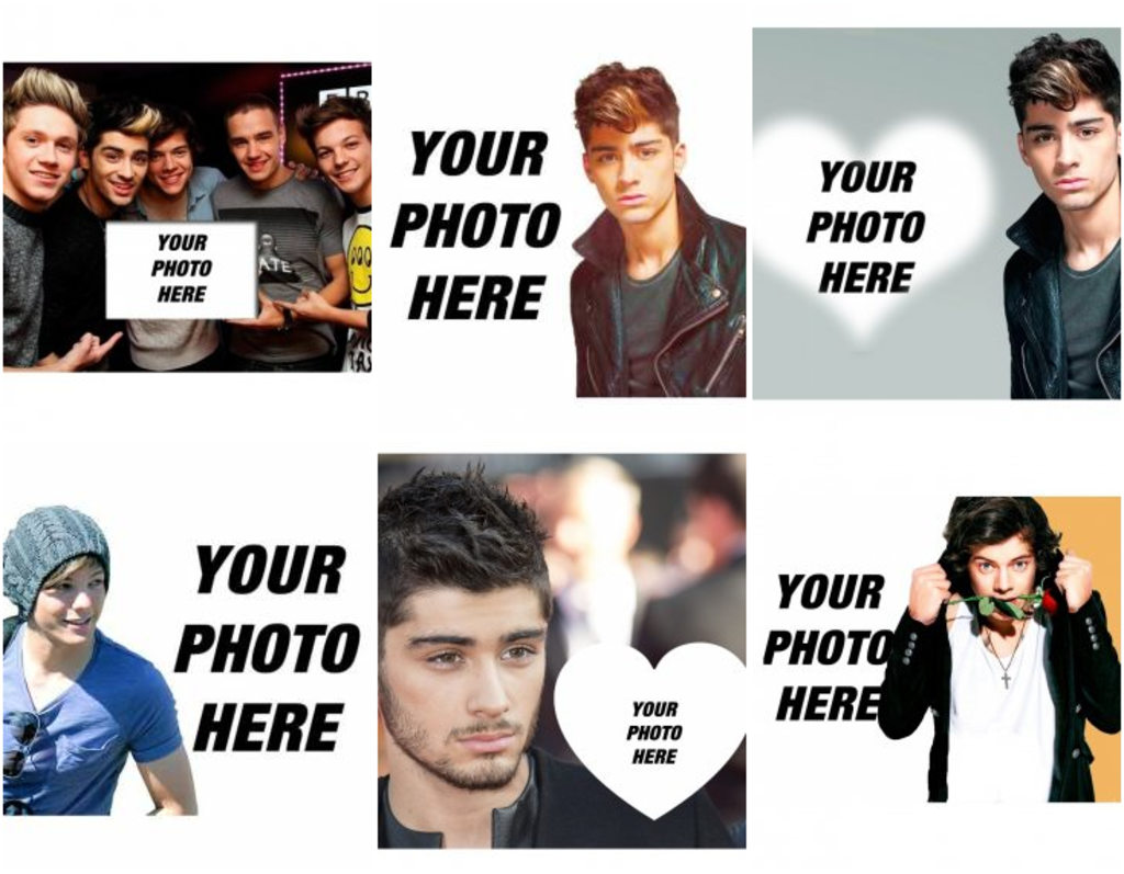 Photomontages with One Direction