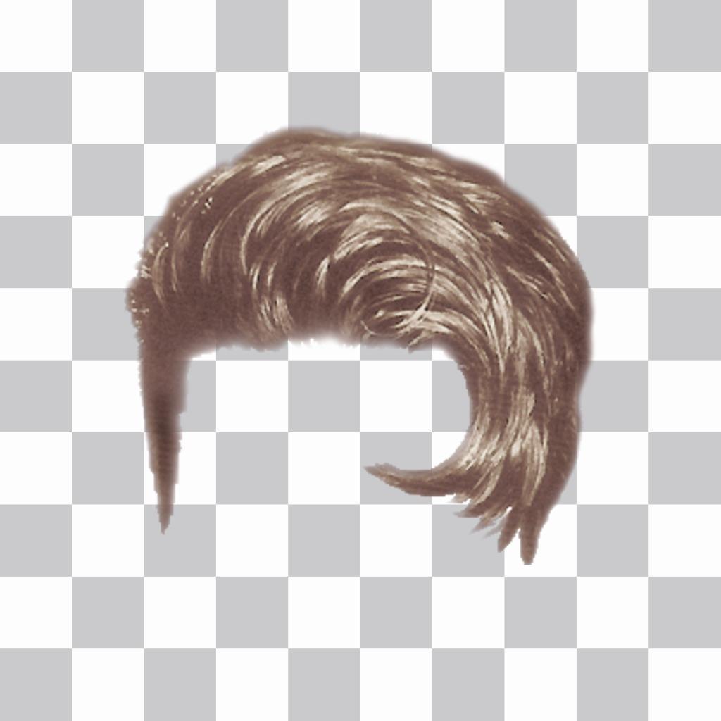 Travolta style wig Photomontage to put your photos