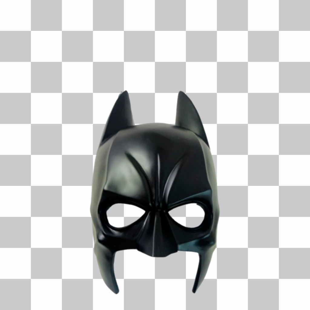 Sticker to paste on your pics with the Batman mask