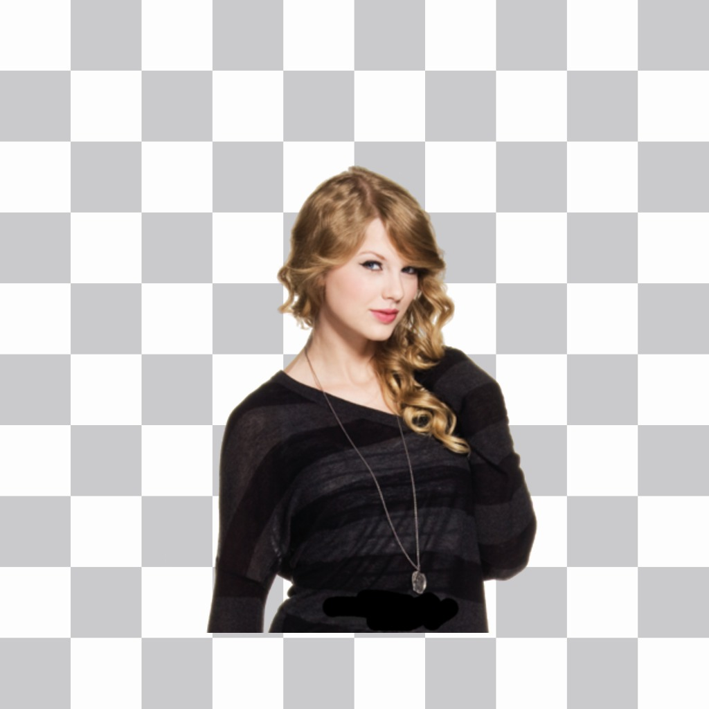 Put Taylor Swift on your photos with this free sticker
