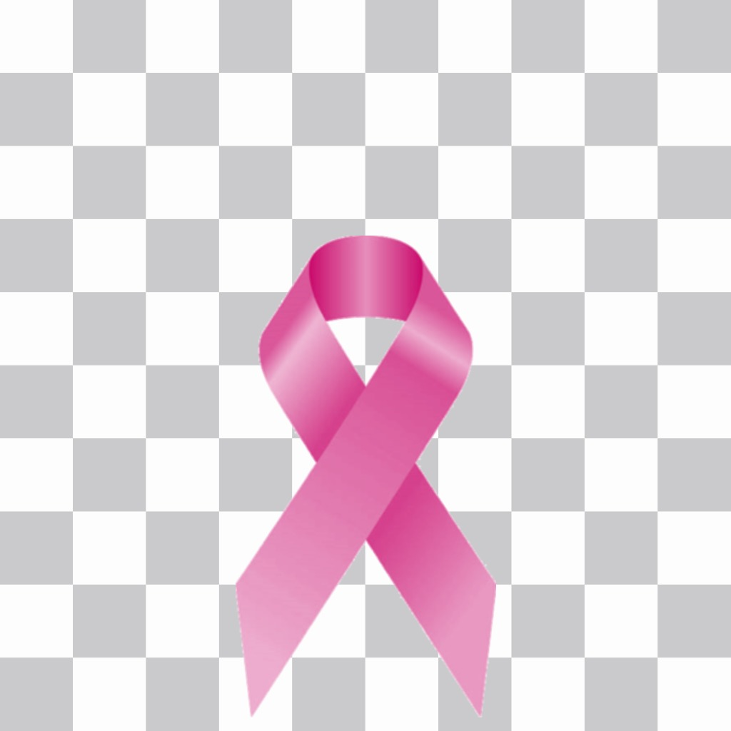 Tie against cancer to put on your profile photo online