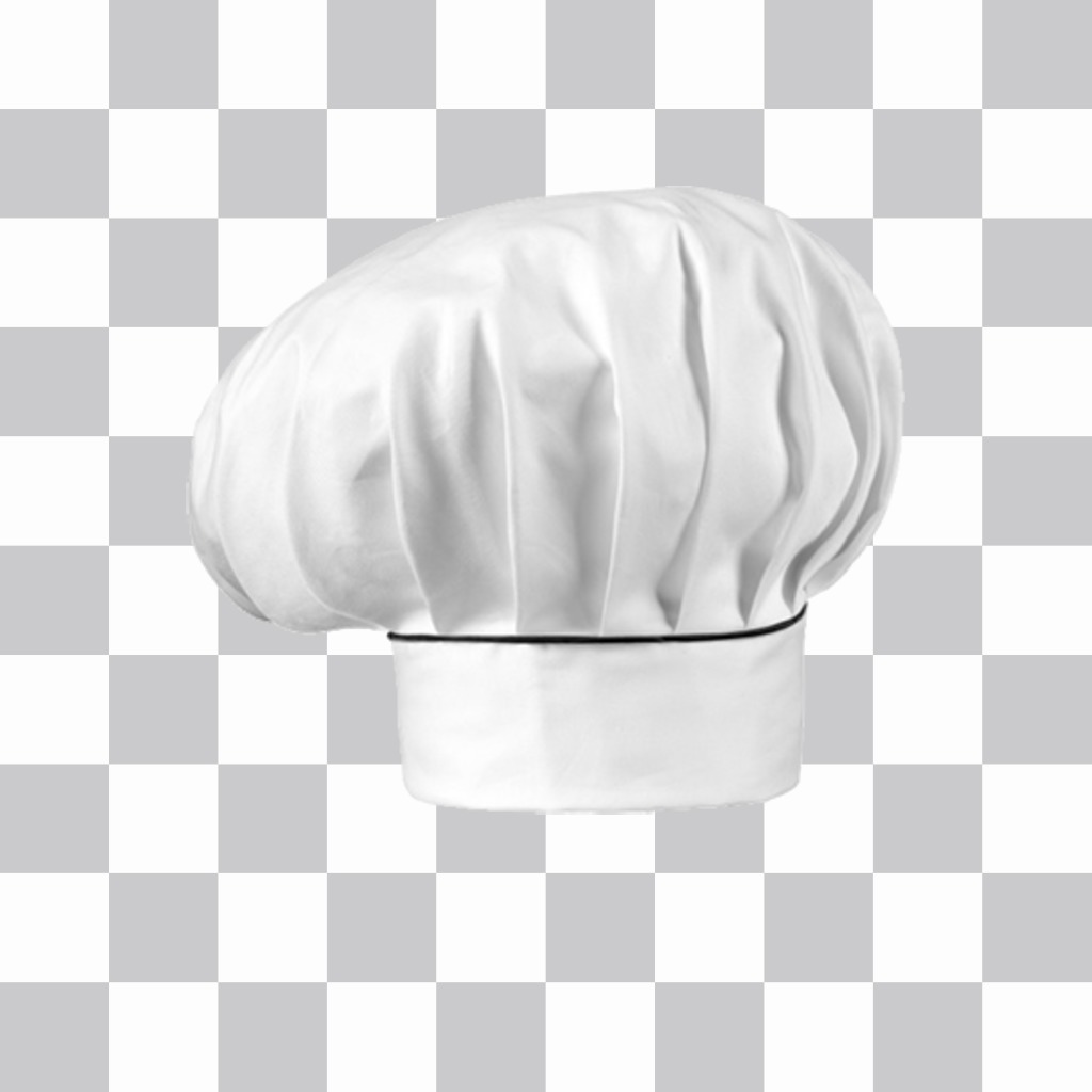 Sticker of a chefs hat to put on your photos
