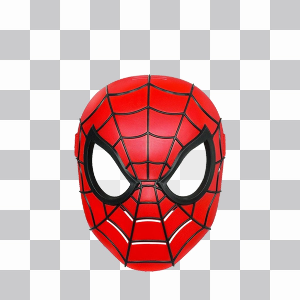 Put on the Spiderman mask with this online photo effect